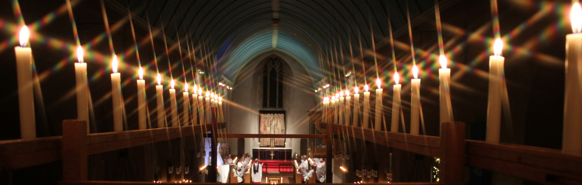 Candlelit First Eucharist of Christmas