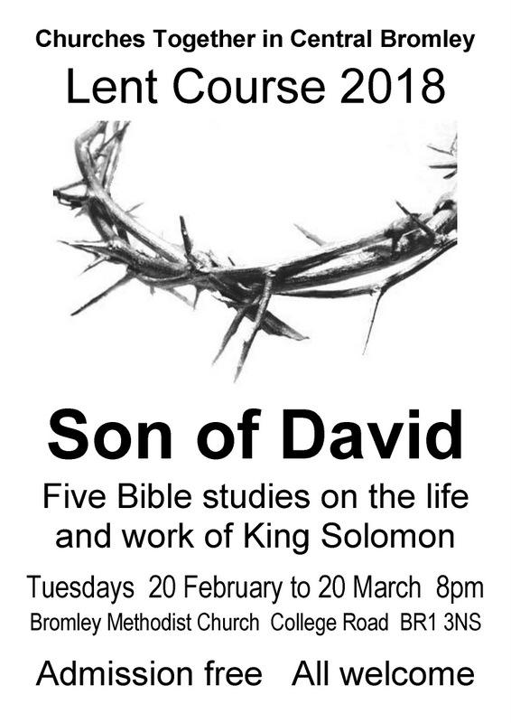 Lent Course 2018 | Bromley Parish Church