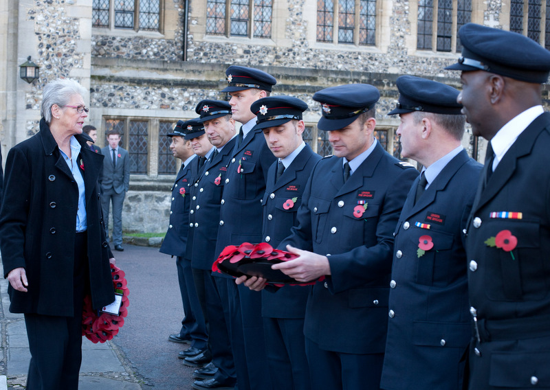 Remembrance Day preparations