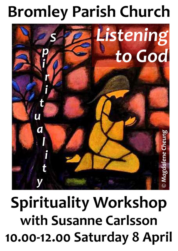 Spirituality workshop poster