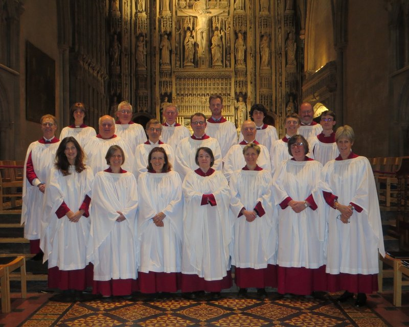 Choir at St Alban's September 2017