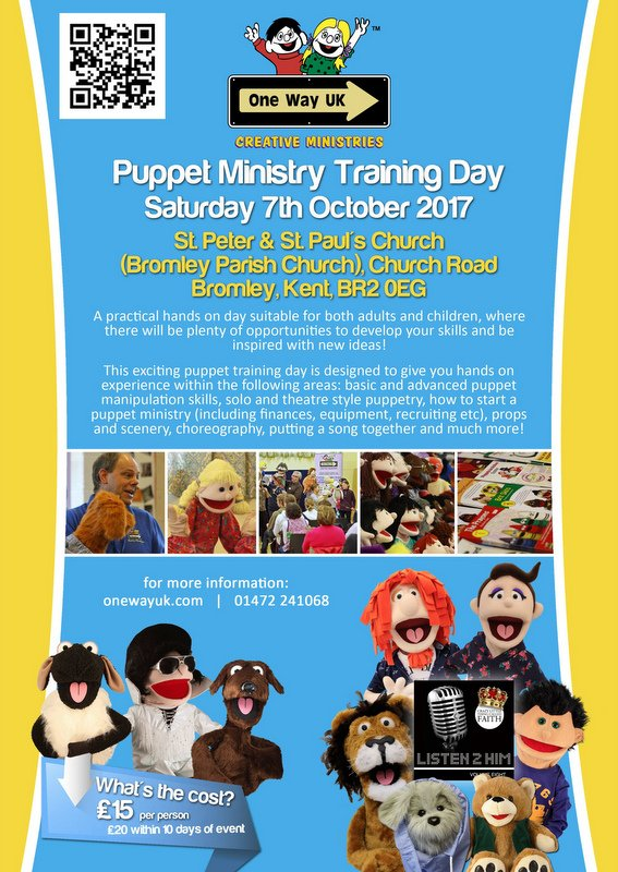 Puppet Ministry Training Poster
