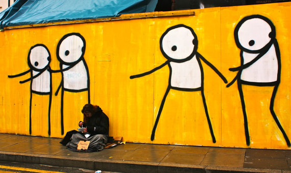 Homeless - by Stik.com