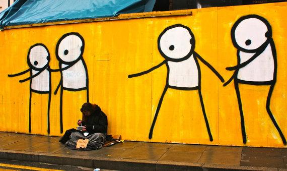 Homeless - by Stik.com