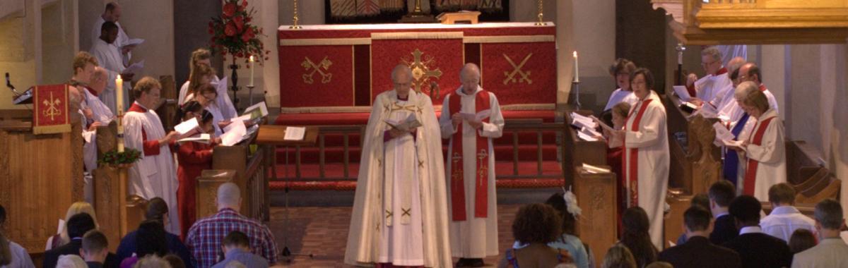 Choir and Bishop