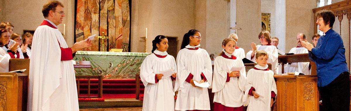 Surplicing of Junior Choir