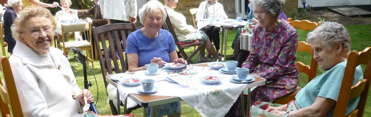 Women's Fellowship Tea Party