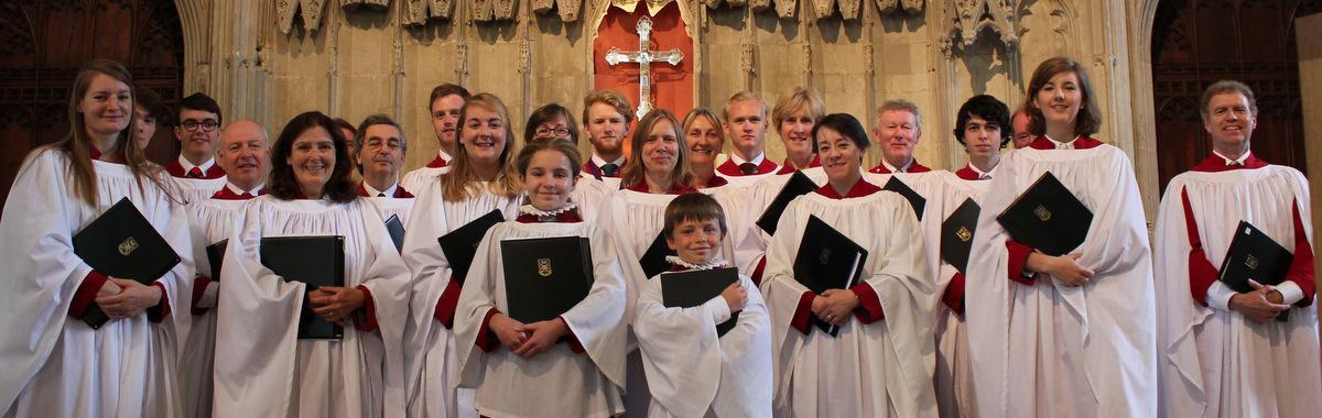 Choir at St Alban's 2015