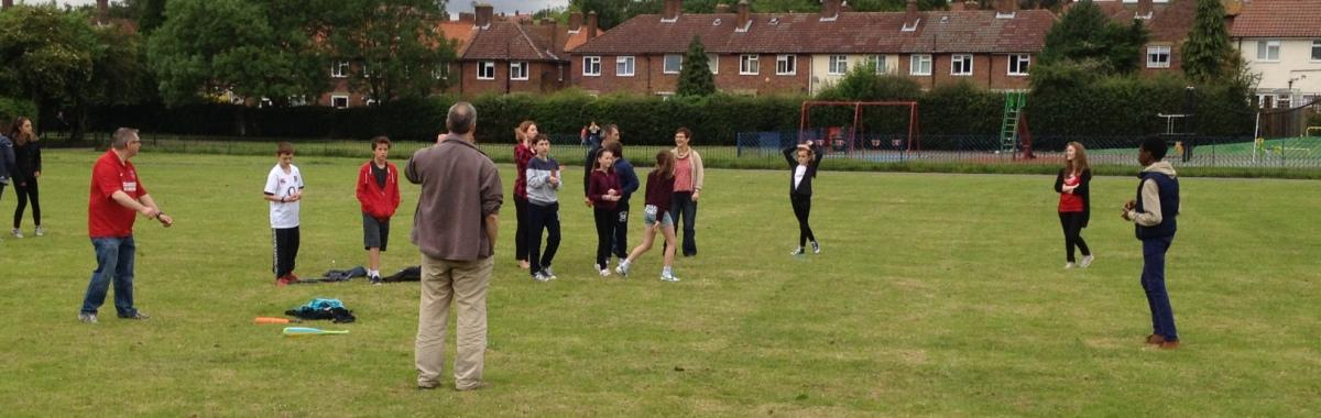 Rounders at Shaftesbury park