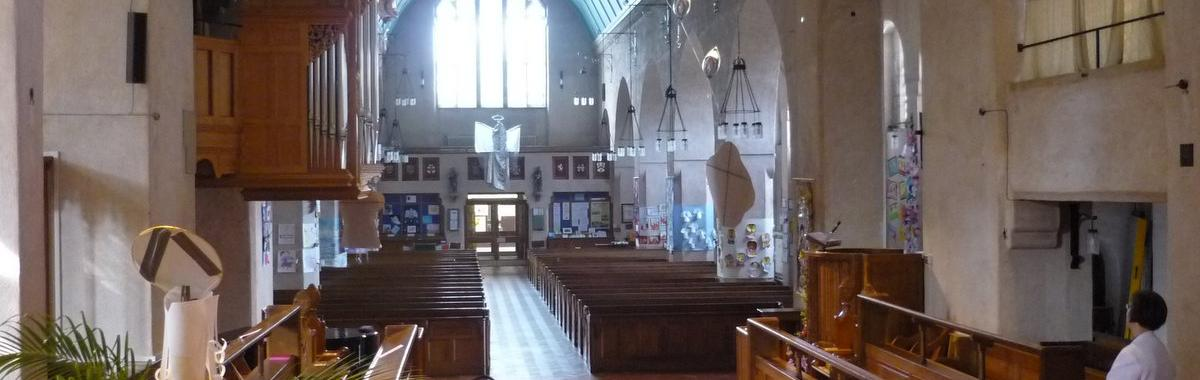 The Sanctuary and Nave