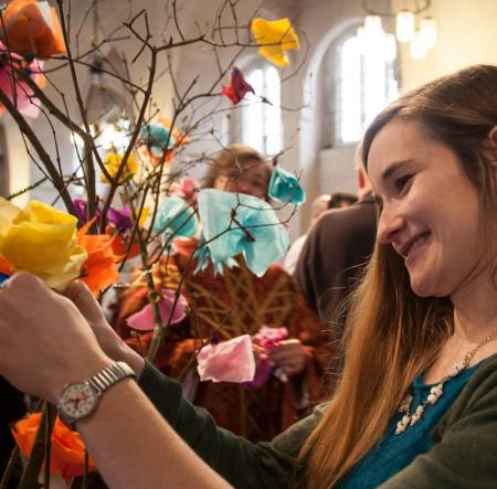 Prayer Flowers at Easter