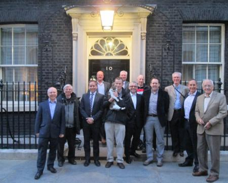 Men's Group night out in Downing Street