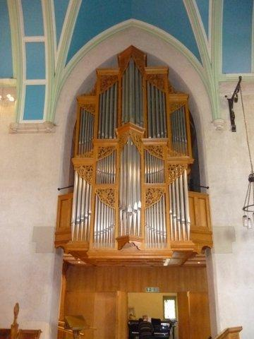 Bromley Parish Church organ image